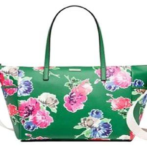 Kate Spade Sprout Green Diaper Bag